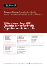 X0021 Charities & Not-for-Profit Organisations in Australia Industry Report-1