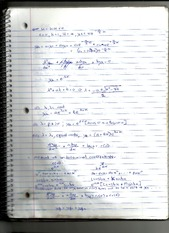 Notes on Method of Undetermined Coefficients and the Modification Rule