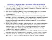 7 BIOL 1001 Evidence for Evolution (Jan. 21) post-lect