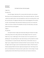 Essay With Thesis Statement Example  Pages The Other Wes Moore Part  Synopsis Essay On High School also Example Essay Thesis Statement The Other Wes Moore Analytical Paper  Manubay  Heidi Thoenen  Business Management Essays