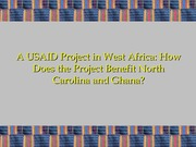 5 Fall 2014 STS 323 USAID Peanut CRSP West Africa