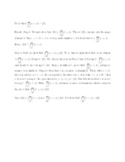 A Proof about the Intersections of Sets - Math 230 - Spring 2012 (Davidson College)