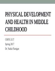 Sp2017 Physical Development Middle Childhood.ppt