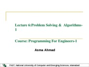 Lecture6 Intro to Algos