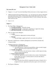 Management Exam 1 Study Guide.docx