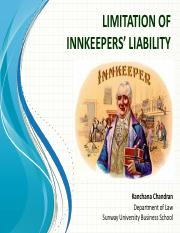 Limitation of Innkeepers' Liability.pdf