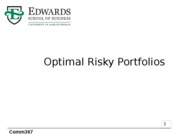 7 Optimal Risky Portfolios