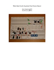 Three Band Audio Equalizer Final Project Report