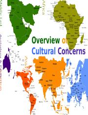 Overview of Cultural Concerns-Bb-2016