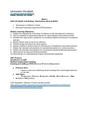Health and Healing- Introductory Nursing Skills Notes.docx