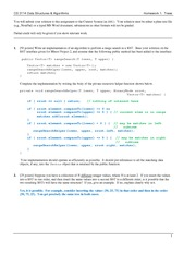 Homework A Solutions on Data Structures and Algorithms
