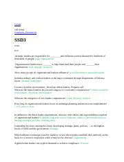 SSD 3 Answers docx - Create 148 terms Dominick_Diemunsch