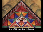 12 Rise of Modernism in Europe