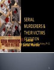 Chapter 4 - Social Construction of Serial Murder