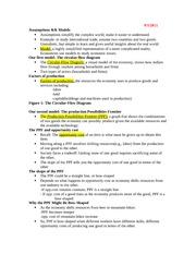 ECON 110 : MICROECONOMICS - University of Alabama