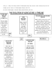 The Evolution of Agriculture Timeline.docx