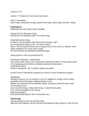renewables notes