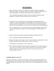 ABhatti_Careers in Criminal Justice_US Laws-Freedom versus Responsibility_Lab Questions.docx
