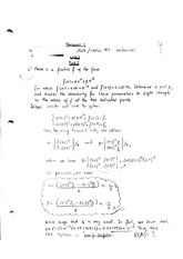 Math 455 Homework 3 With Answers
