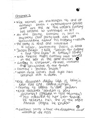 the great gatsby chapter 5 analysis Chapter summary for f scott fitzgerald's the great gatsby, chapter 5 summary find a summary of this and each chapter of the great gatsby.