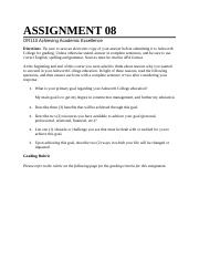OR110A Assignment 8.docx