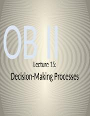BU398 Lecture 15 - Decision Making_2016_myls