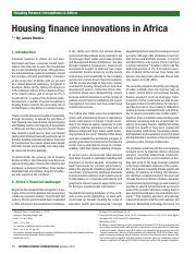 housing fin innovation in africa.pdf