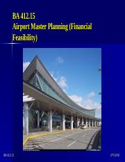BA 412.15 - Master Planning (Financial Feasibility).ppt