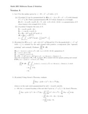 exam 2 solutions-2012