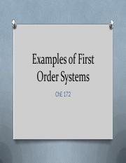 07 1st Order Systems