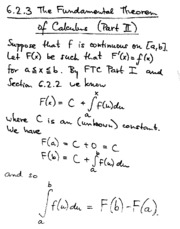 6.2.3 the fundemental theorem of calculas