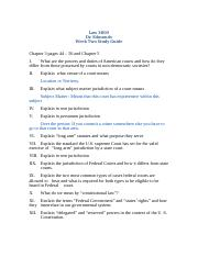 Law 3800, New Study Guide, Week Two, F 13.docx