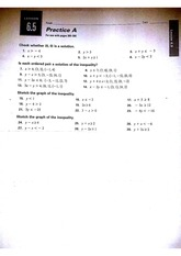 Lesson 6.5 Homework Sheet A