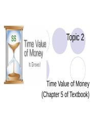 TimeValueOfMoney_Topic2