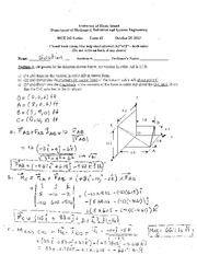 Exam 2 - Fall 2013 _Solution_