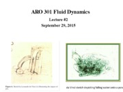 LECTURE 2A    ARO 301 Fall 2014v1