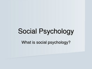 Ch 1 Intro Social Psychology.student