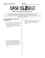 closing case ch 9