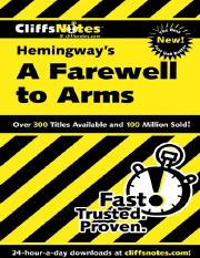 A Farewell to Arms (Cliffs Notes) ( PDFDrive ).pdf