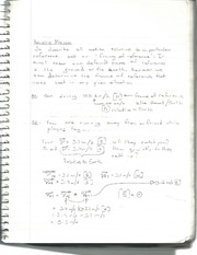 Relative Motion Notes with Example