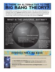 What Is the Big Bang Theory
