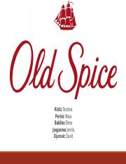 Präsentation Old Spice