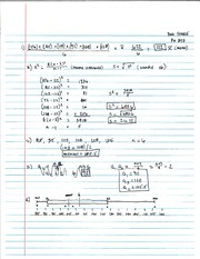 Notes on Numbers, Mean and Mode