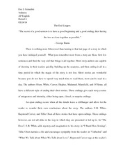 Spring Final Paper