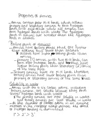 Notes on Properties of Aminos