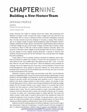 Chapter9BuildingaNew-VentureTeam