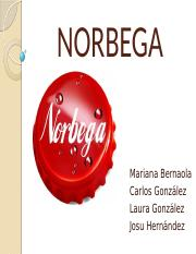 NORBEGA Power poit