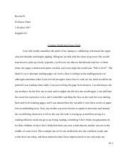 Persuasive Essay Example High School  Pages Creative Nonfiction Essaydocx The Yellow Wallpaper Essay Topics also Proposal For An Essay Boy In Pjs Situational Ironydoc  Dani Hicks The Boy In The Striped  Good Science Essay Topics