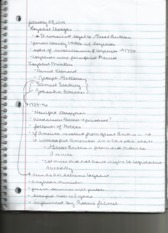 LOYALISTS NOTES class notes