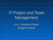 IT Project and Team Management_Unit1_IP